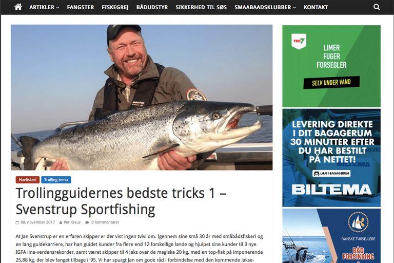 Småbådsnyt Svenstrup Sportfishing